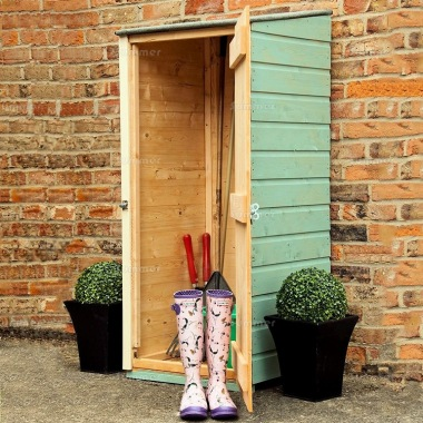 Malvern shire and rowlinson garden sheds and workshops for Narrow storage shed
